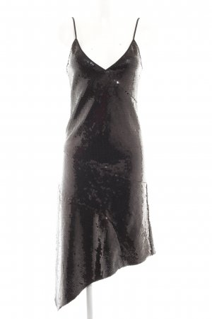 DKNY Pailettenkleid schwarz Party-Look