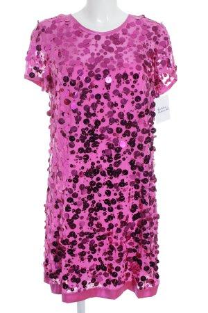 DKNY Pailettenkleid violett extravaganter Stil