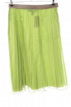 DKNY Pleated Skirt green casual look