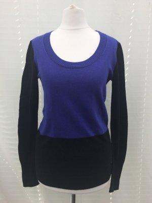 DKNY Pullover Gr XS Schwarz/ Blau