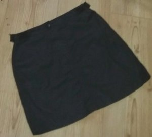 DKNY Jupe cargo noir tissu mixte