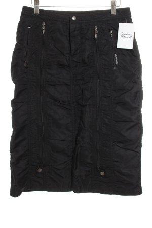 DKNY Rock schwarz extravaganter Stil