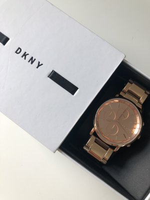 DKNY Rose Gold,  Armbanduhr, watch