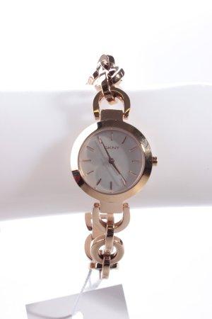 DKNY Sasha Round Armbanduhr roségoldfarben