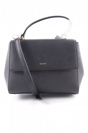 "DKNY Cartella ""Ay Ramadan Samara SM Flap Satchel Bag Black/Gold"" nero"