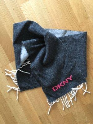 DKNY Schal in grau und Pink