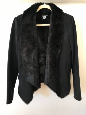 DKNY *** Schicke Übergangsjacke aus hochwertigem Webpelz