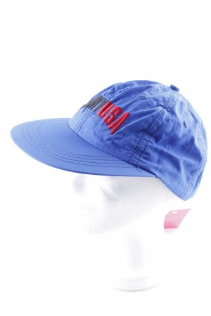 DKNY Visor Cap blue embroidered lettering casual look