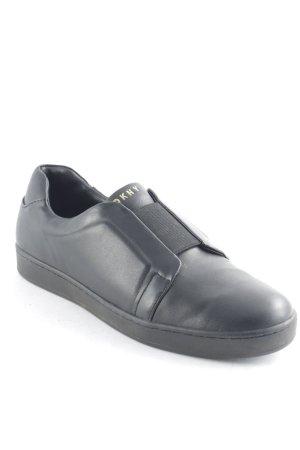 DKNY Schlüpfsneaker schwarz sportlicher Stil