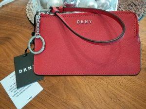 DKNY Schlüsseletui Portemonnaie Pochette Leder !NEU!
