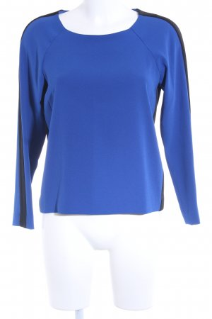 DKNY Schlupf-Bluse blau-schwarz Streifenmuster Casual-Look