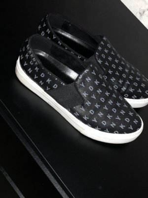 DKNY Basket slip-on noir-blanc