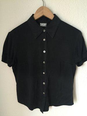 DKNY Seiden Bluse mit Stretch