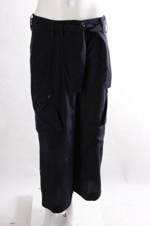 DKNY Seidenhose schwarz