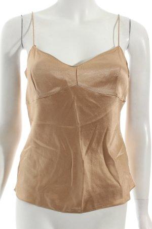 DKNY Seidentop goldfarben Eleganz-Look