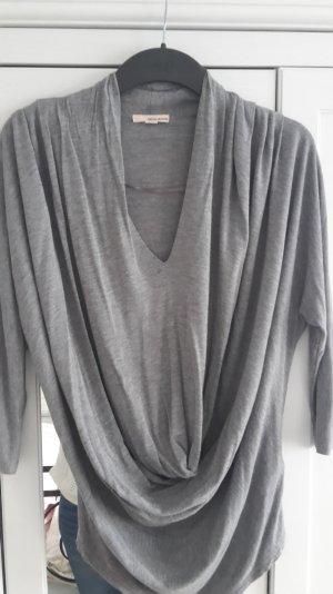DKNY Shirt mit Wasserfall-Ausschnitt