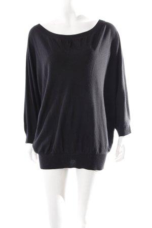 DKNY Shirt schwarz schlichter Stil