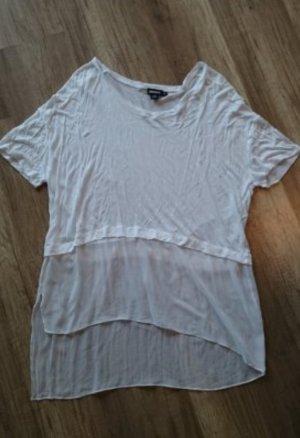 DKNY Shirt Seide Seidenshirt Bluse Blusenshirt Oversize