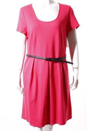 DKNY Shirtkleid himbeerrot Casual-Look