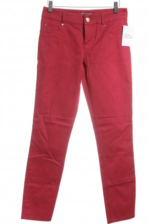 DKNY Skinny Jeans rot Casual-Look