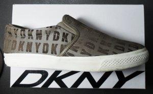 DKNY Sneaker beige/hellbraun Größe 40