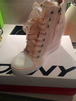 DKNY Sneaker Wedges in Rosa Gr. 39