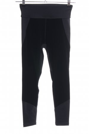 DKNY Sporthose schwarz-silberfarben sportlicher Stil