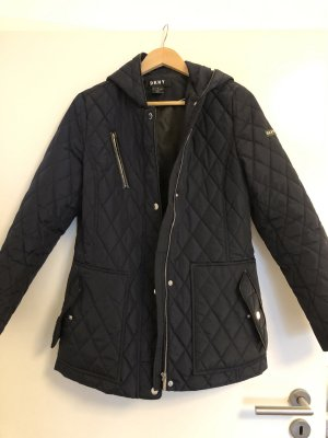 DKNY Quilted Jacket black-dark blue