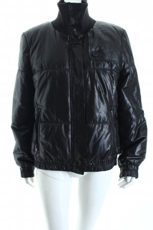 DKNY Steppjacke schwarz Casual-Look