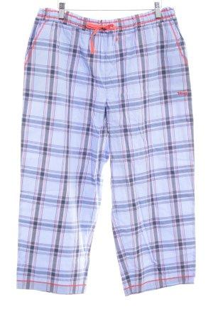 DKNY Pantalone jersey motivo a quadri stile casual