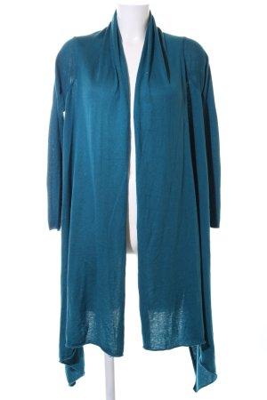 DKNY Strick Cardigan blau Casual-Look