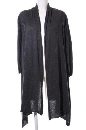DKNY Strick Cardigan schwarz Allover-Druck Casual-Look