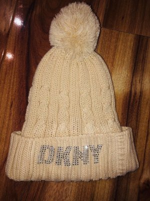 DKNY Knitted Hat oatmeal