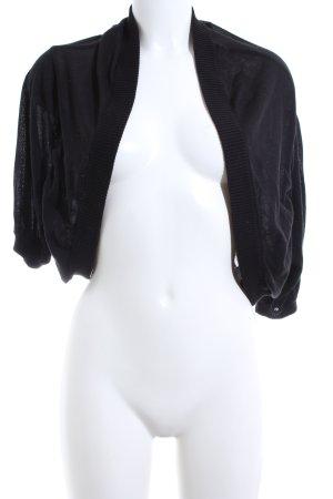 DKNY Boléro en tricot noir style d'affaires