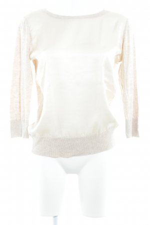 DKNY Strickpullover creme-apricot meliert Casual-Look
