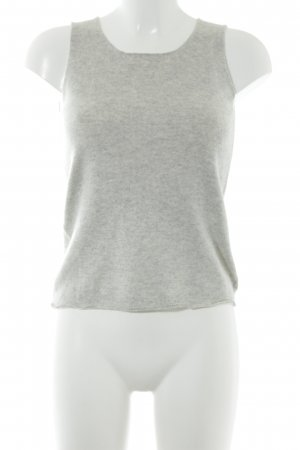 DKNY Knitted Top light grey flecked casual look