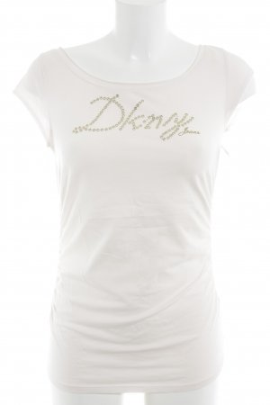DKNY T-Shirt rosé-goldfarben Casual-Look