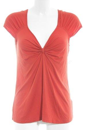 DKNY T-Shirt rot extravaganter Stil