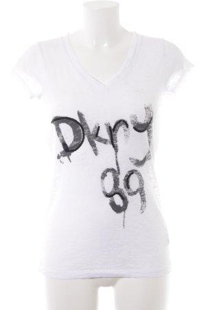 DKNY T-Shirt Schriftzug gedruckt Casual-Look