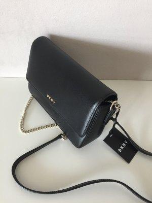 DKNY Tasche Handtasche Schwarz Gold NEU Donna Karen crossbody