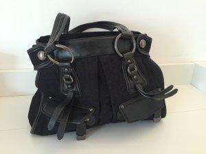 DKNY Tasche Leder und Stoff