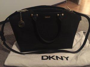 DKNY Trapez Bag schwarz Saffiano
