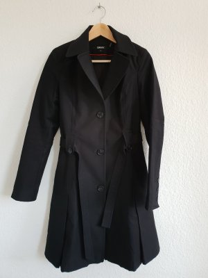 DKNY Trenchcoat schwarz