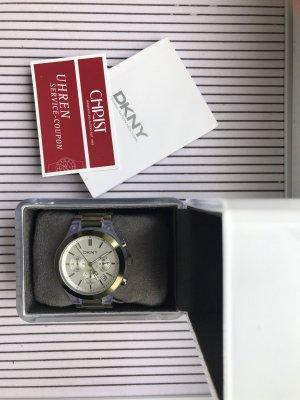 DKNY Orologio con cinturino di metallo cachi
