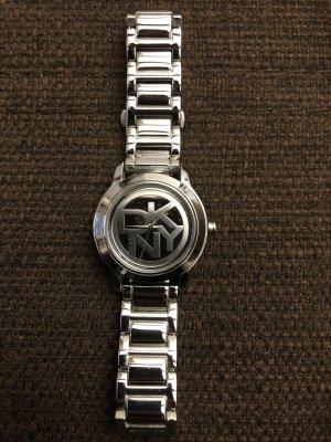 DKNY Horloge met metalen riempje zilver