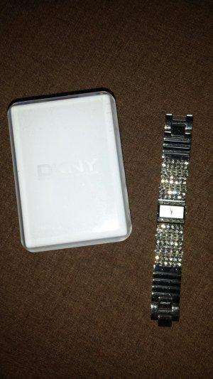 DKNY Uhr mit Glitzerband