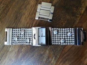 DKNY Uhr mit Glitzersteinen