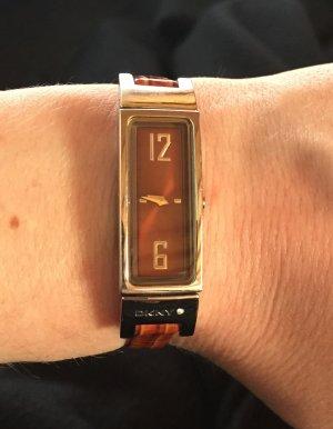 DKNY Uhr mit Lederarmband