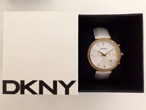 DKNY Uhr mit Lederband für Damen NY4911