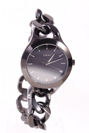 "DKNY Uhr mit Metallband ""Chambers Stainless Steel Black"" schwarz"